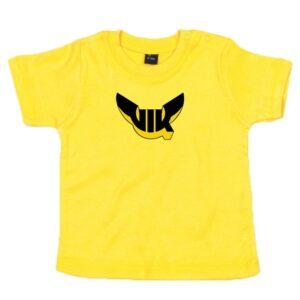 Baby t-shirt, gul