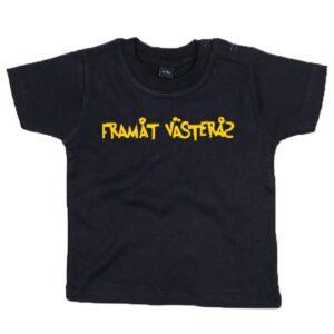 Baby t-shirt, svart