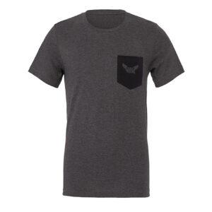 T-shirt, Kontrast Ficka
