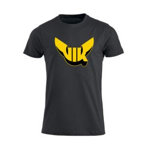 T-shirt Svart Barn, Emblem