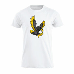 T-shirt White, Black Eagle