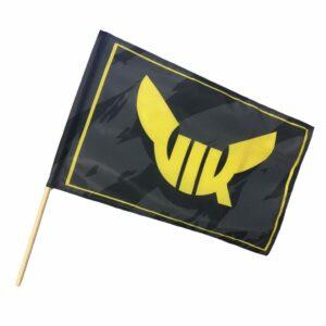 Flagga Stor, Med Pinne
